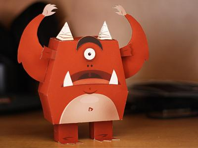 Paper Monster! by Andrew Power