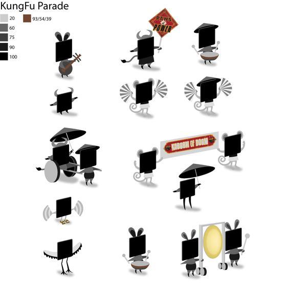 Dreamwork's KungFu Panda Parade