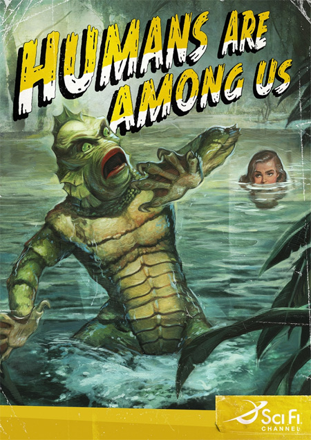 """""""Humans are Among Us"""" Sci Fi Campaign"""
