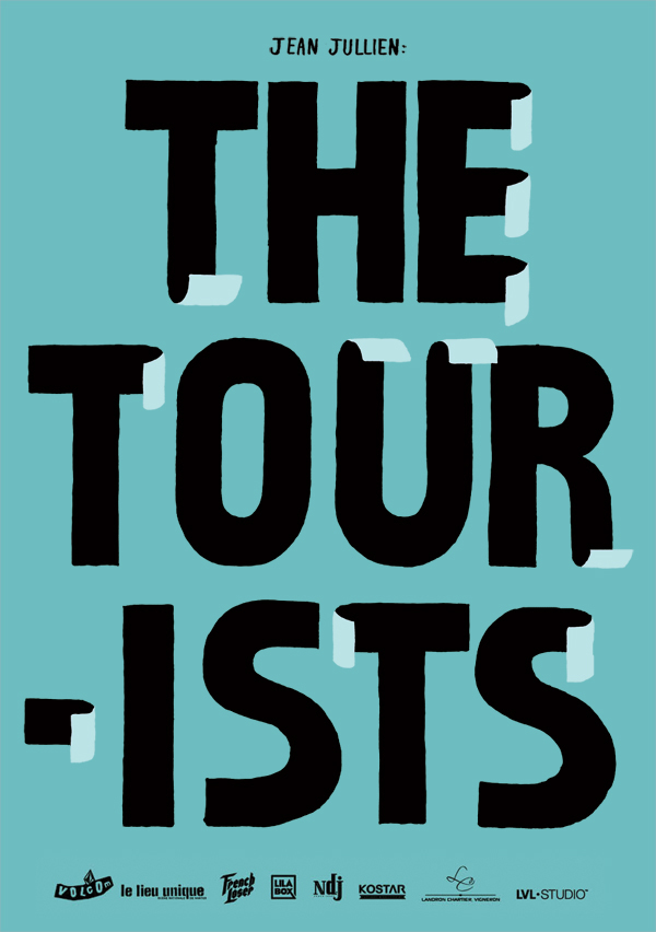 Jean Jullien's online portfolio: THE TOURISTS