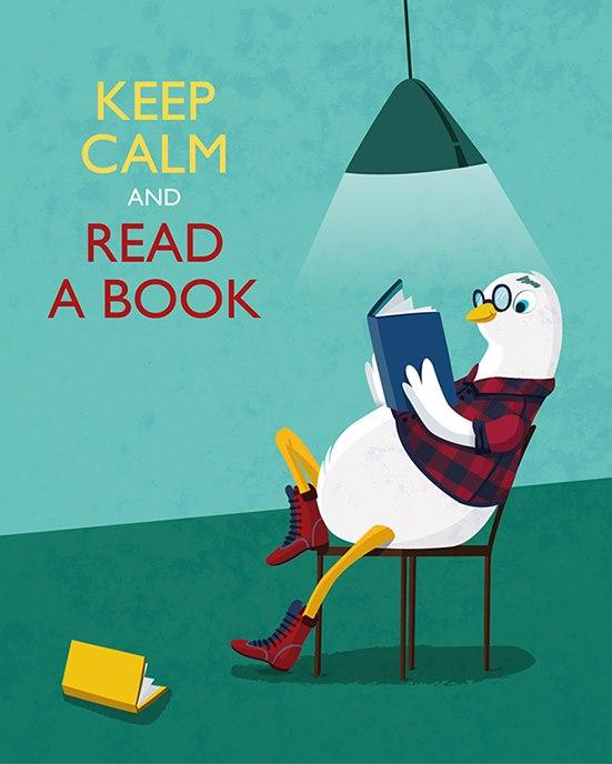 Keep calm and read a book 210148 on wookmark