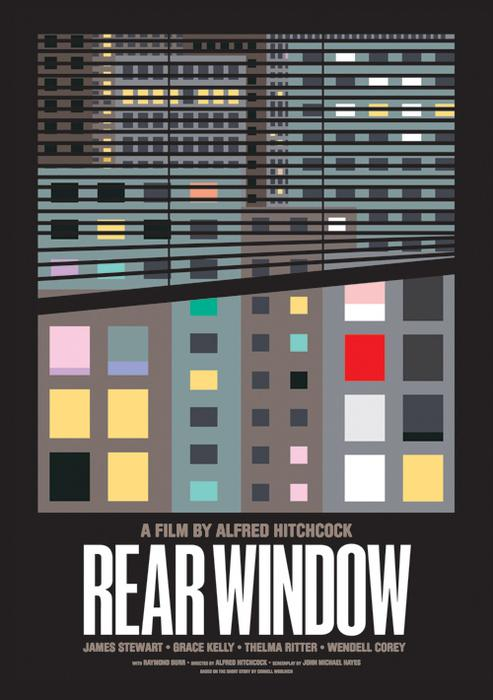 Fuck Yeah, Movie Posters! — Rear Window by James Joyce Submitted by...