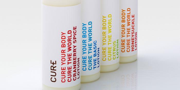 Cure Body Care - The Dieline: The World's #1 Package Design Website -