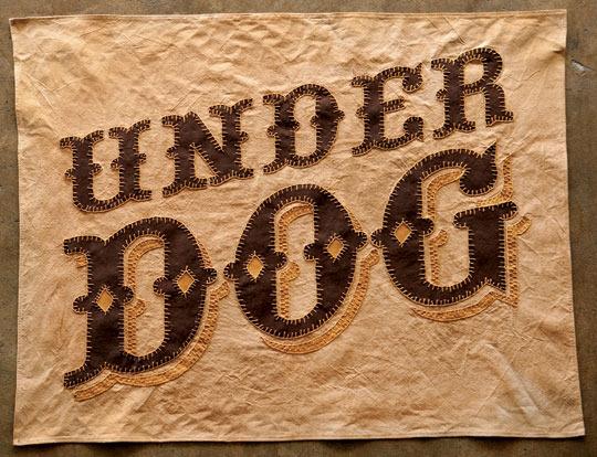 """Standard Grit — """"Under Dog"""" Flag"""
