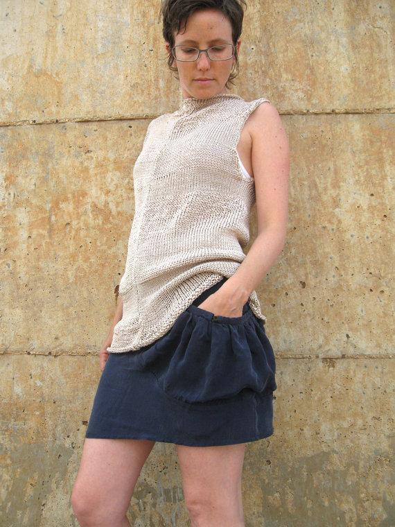 Pocket Mini Skirt by duende74 on Etsy