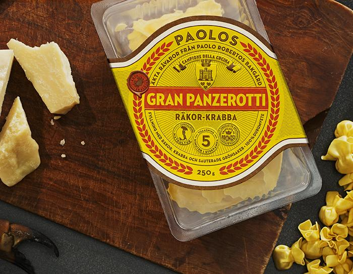 Paolos - The Dieline -