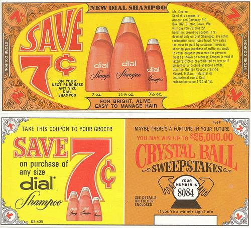 45 Classy Examples of Vintage Coupon Designs | inspirationfeed.com
