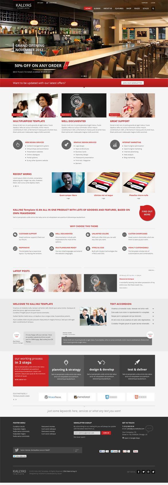 Kallyas, Premium Wordpress Responsive Multi-Purpose Theme | WP Download