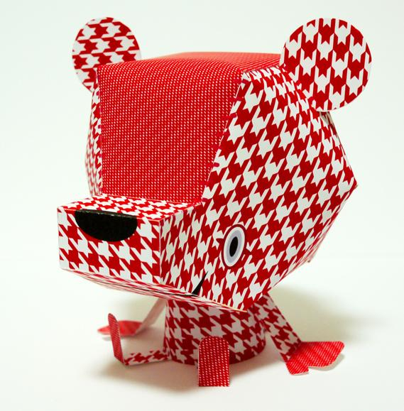 Creative Review - Paper toys: Shin Tanaka