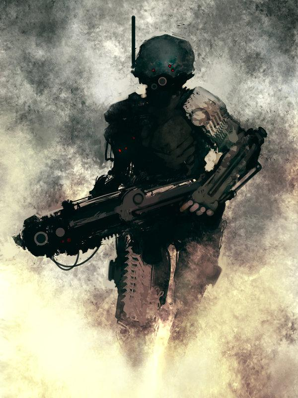 15 amazing sci-fi character illustrations Â« INDEZINER