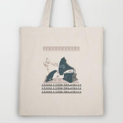 singer - ANALOG zine Tote Bag by Viviana González | Society6