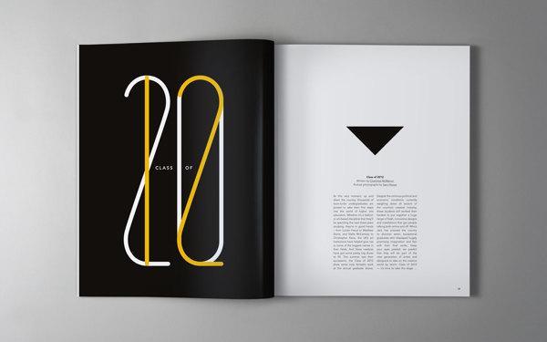Inspiration Hut 54 Fantastic And Modern Magazine Design