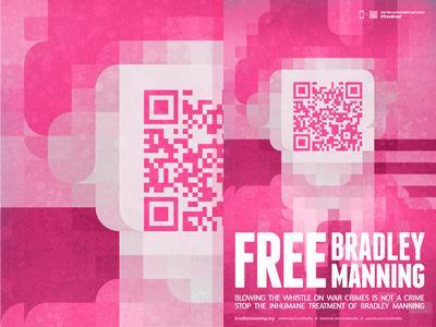 Bradley Manning Poster by François