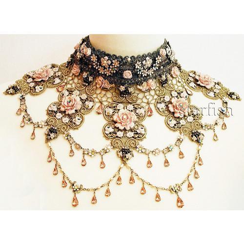 l4565, Swarovski necklace (see more swarovski...
