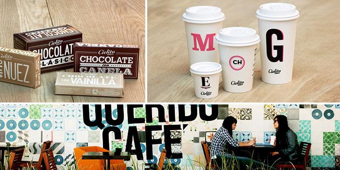 Cielito QueridoCafé - TheDieline.com - Package Design Blog