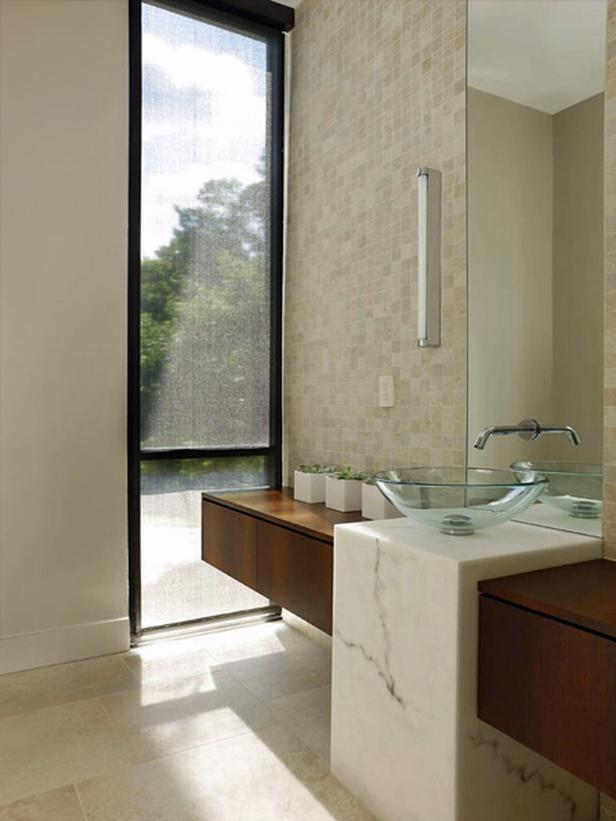 Modern | Bathrooms | Bonnie Sachs : Designer Portfolio : HGTV - Home & Garden Television