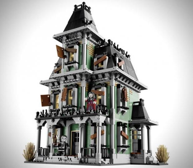 Дом с привидениями как сделать