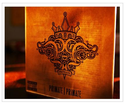 Benjamin Dooling » Primate Album Jacket