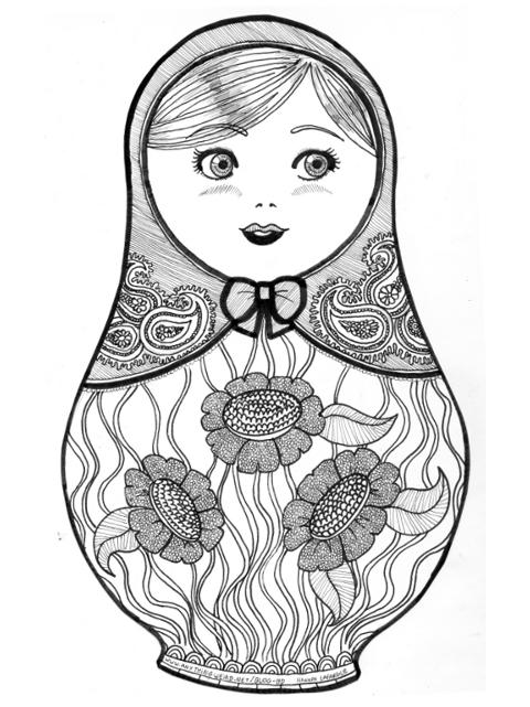 La Reine des Grenouilles · Matriochka