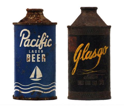 Vintage Packaging: BeerCans - TheDieline.com - Package Design Blog