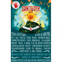 Sawtooth Poster | Left Hand Blog