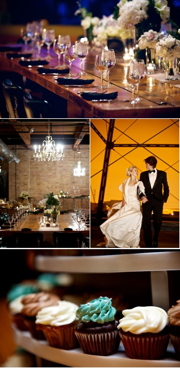 Winter Chicago Wedding from David Wittig Photography | Style Me Pretty
