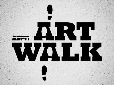 ESPN Art Walk by Joe Hribar