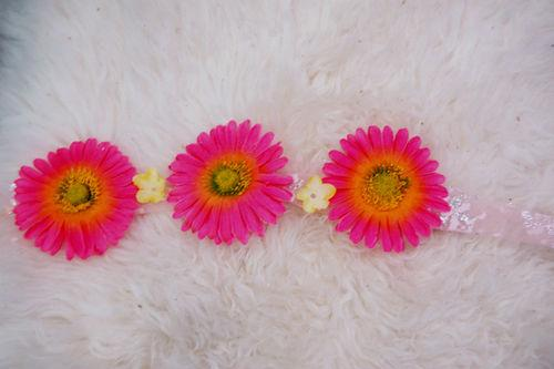 DIY Flower Headband on Audrey Kitching's Blog - Buzznet