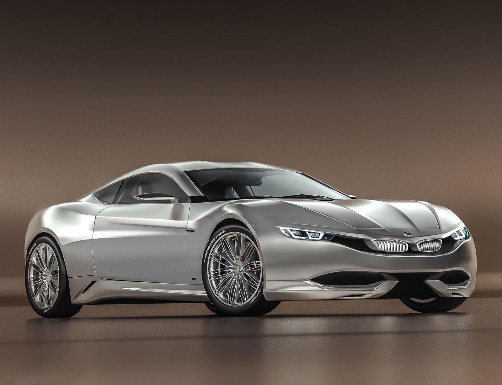 Bmw M9 Concept Car Body Design 219067 On Wookmark