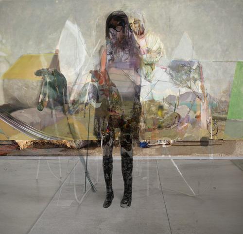 iheartmyart ♥ — Alex Fischer,Figure Head, 2010, digital composite