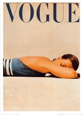 Vintage Posters - Vintage Vogue