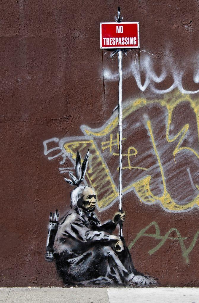 40 Inspirational Examples of Banksy Art and Graffiti | inspirationfeed.com