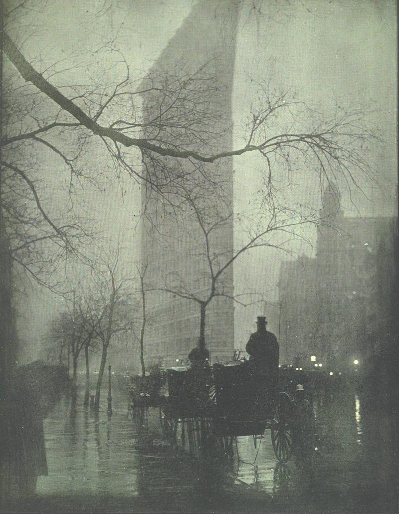 the-flatiron-building-1905-photograph-by-edward-steichen.jpg (800×1030)