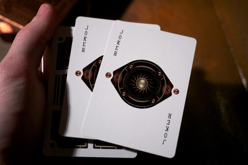 Steampunk Playing Cards - theory11.com