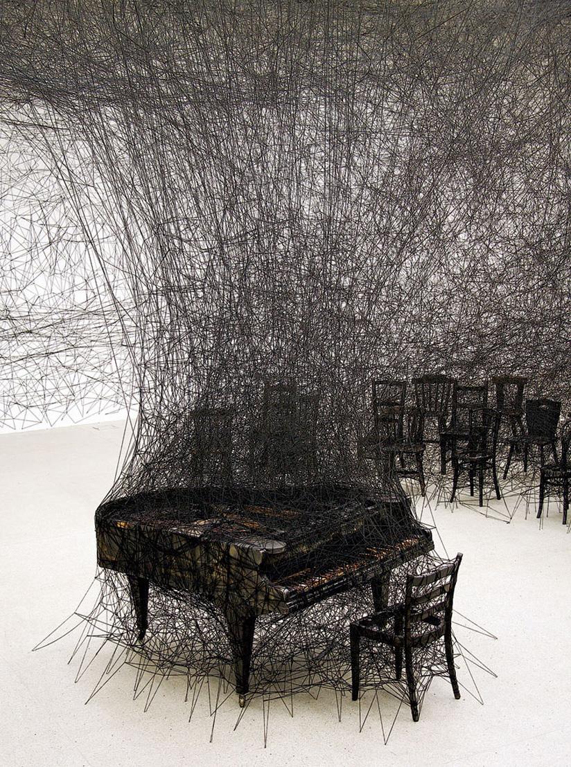 Look in art: Chiharu Shiota