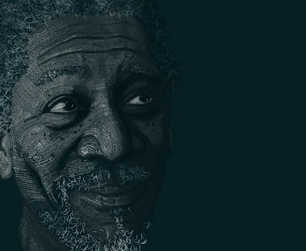 10 Beautiful Human Portrait Typography Designs   inspirationfeed.com
