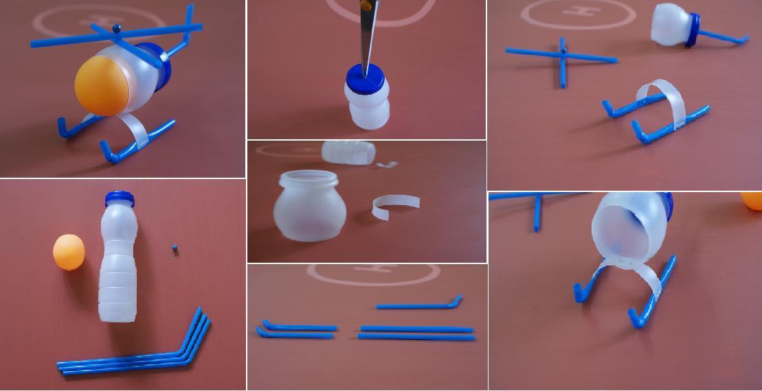 Поделка из пластмассы
