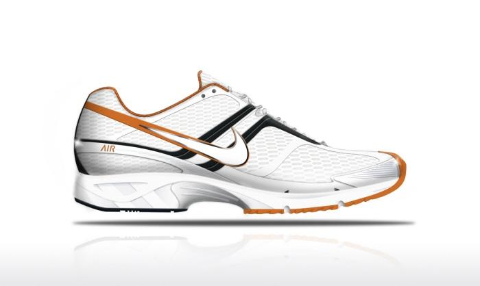 RUNNING SHOE (LIGHTNING 4) FOR BRAZIL by Fabricio da Costa Machado at Coroflot