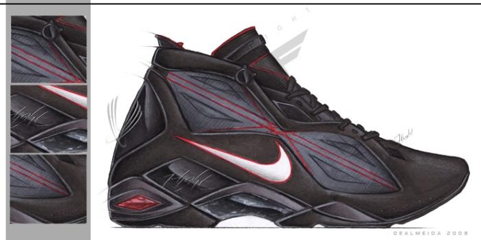 2010 Flight Shoe concept by Matt DeAlmeida at Coroflot