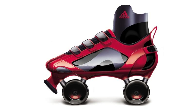 Adidas Tech-Fit Roller Derby Skate by Nathan Durflinger at Coroflot