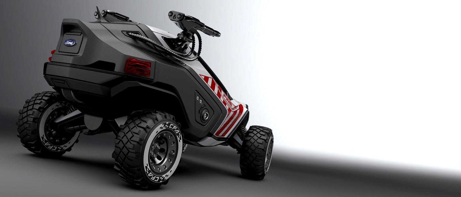 Ford AMATOYA - концепт пожарного квадроцикла | futurika