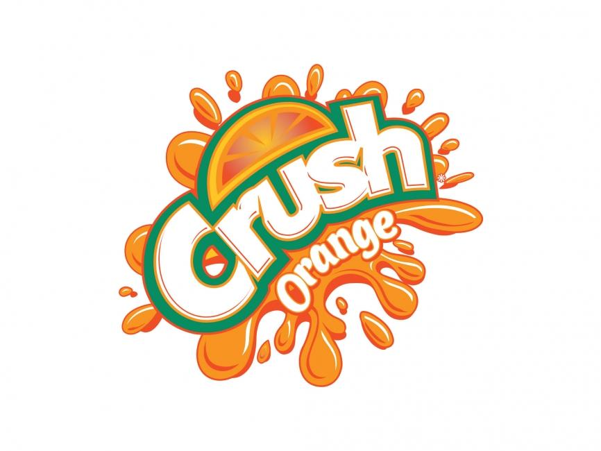 Crush Orange Vector Logo - COMMERCIAL LOGOS - Food & Drink ...