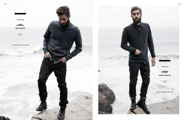 Husky Countrymen Captures - The COMUNE Fall 2011 Collection Gets Rugged (GALLERY)
