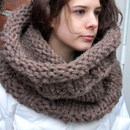 Gigantic Cowl Necks - Severely Oversized Scarves by Therubyneedle Make a Cozy Statement (GALLERY)