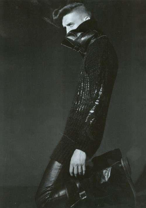 Punk Pride Pictorials - Vince Robitaille by Milan Vukmirovic for L'Officiel Hommes Magazine (GALLERY)