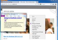 Bring to OneNote :: Дополнения Firefox