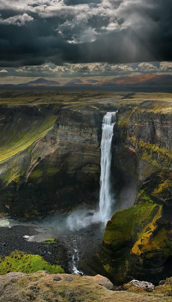 New Wonderful Photos: The Haifoss Waterfall in Iceland