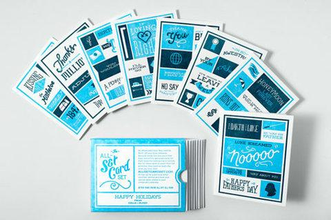 design work life » Colle + McVoy All-Set Card Set