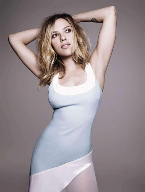 Varia — Scarlett Johansson for Elle Spain