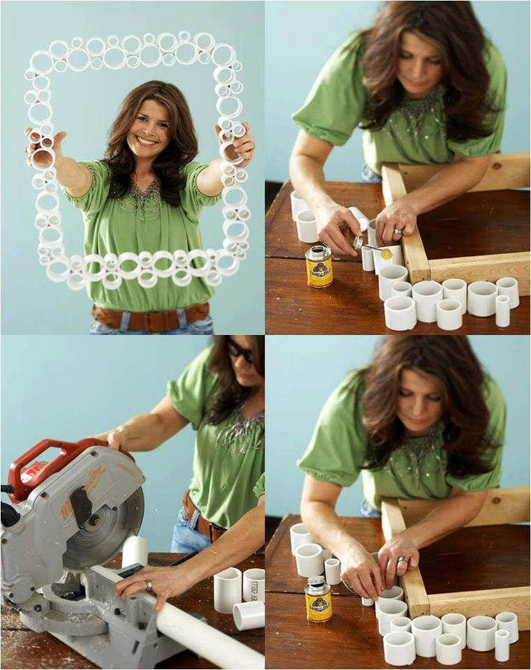 Diy pvc pipe frame diy projects 228578 on for Pvc pipe crafts